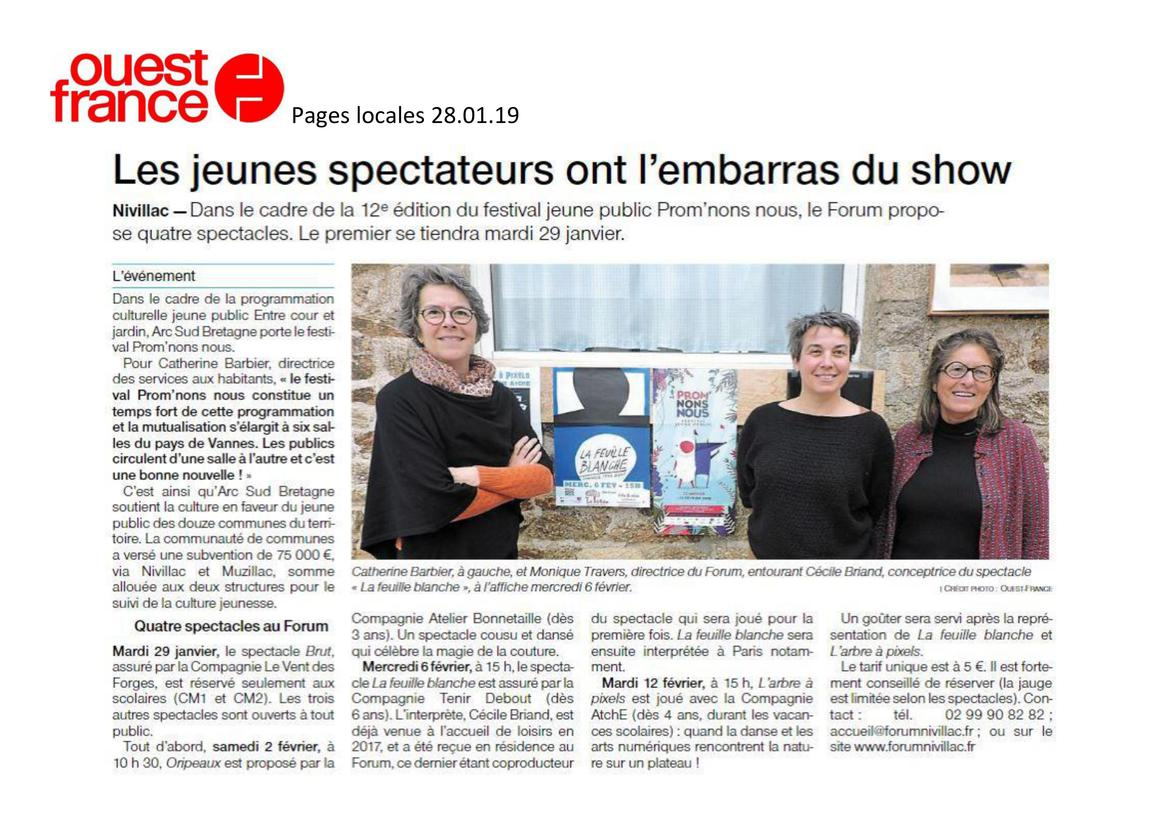 19 Prom'nons nous article